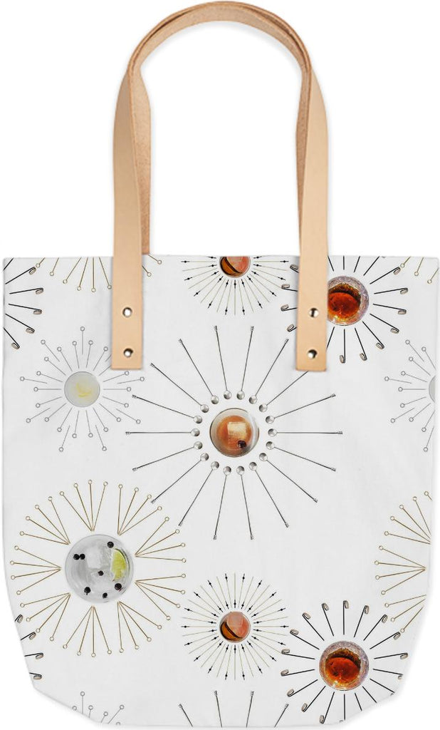 Cocktail Fireworks Tote