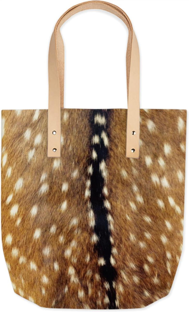 Fawn inspired summer tote bag