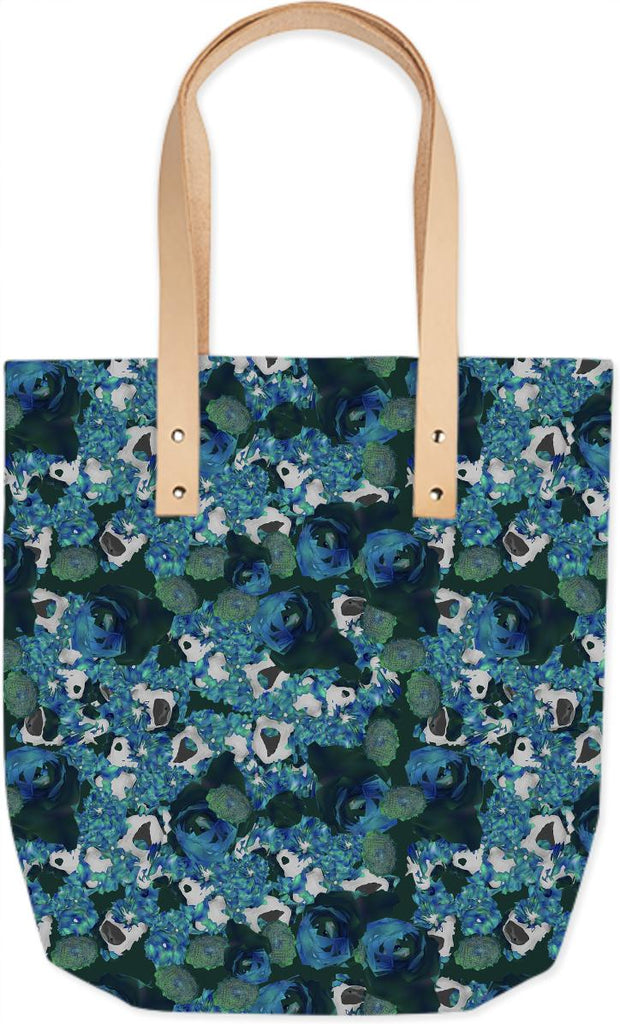 fractals all over summer tote