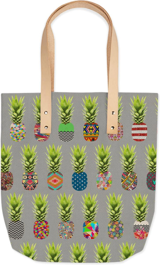 Pineapple Party Summer Tote