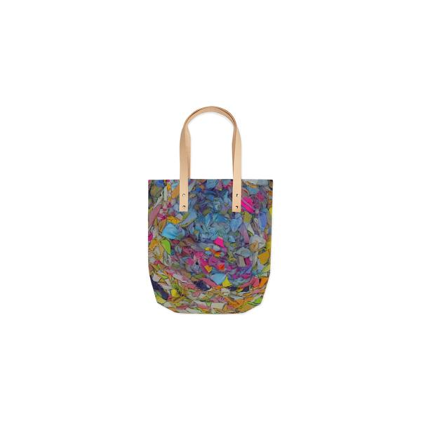 Woven Rainbow Tote