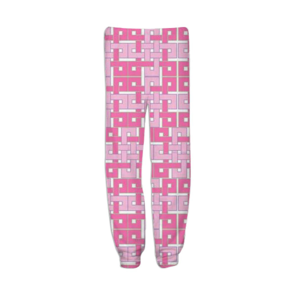 Celtic Squares in Pink Sweatpants