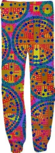 Colorful Circuits Sweatpants