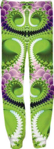 Purple and Green Fractal