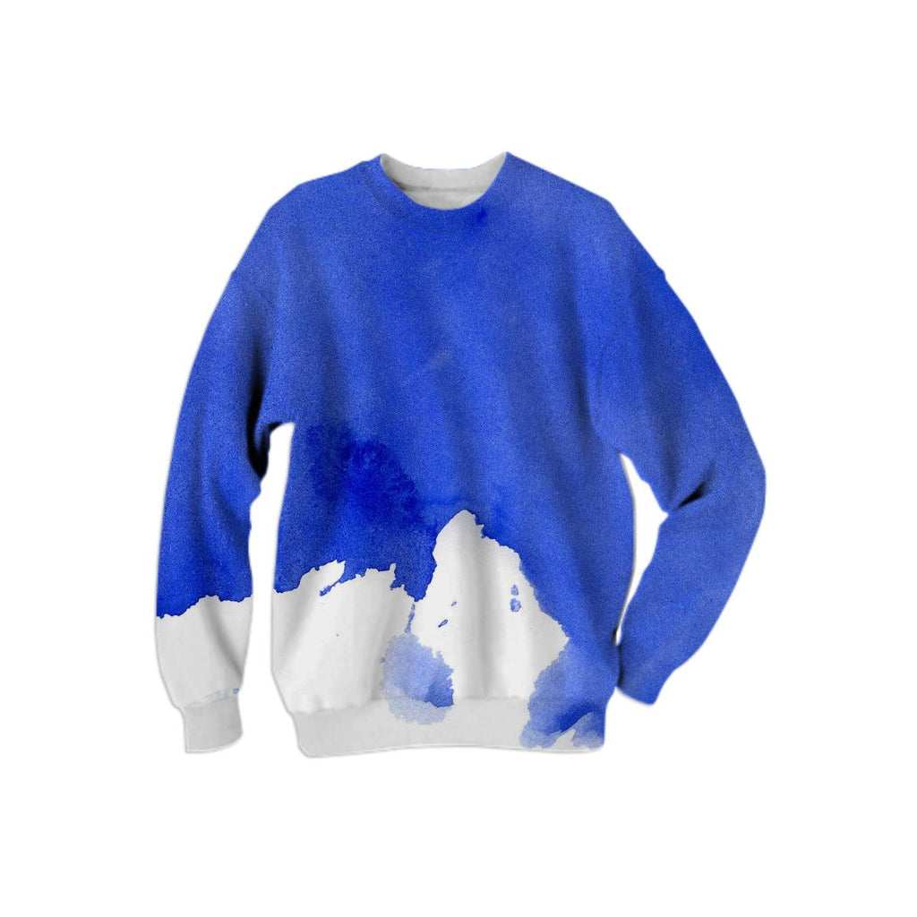 PAOM, Print All Over Me, digital print, design, fashion, style, collaboration, various-projects, various projects, Cotton Sweatshirt, Cotton-Sweatshirt, CottonSweatshirt, BLUE, autumn winter, unisex, Cotton, Tops