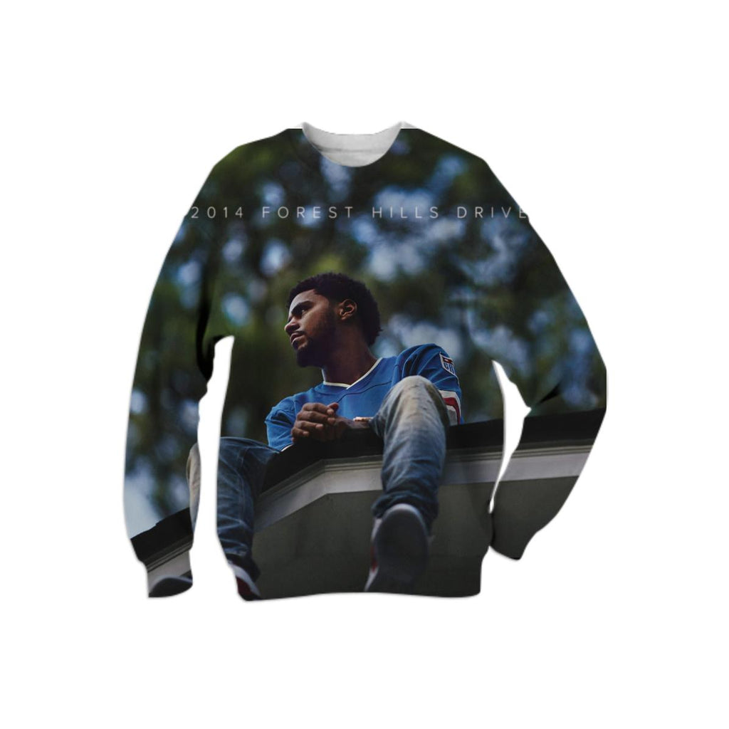 J Cole Forest Hills Drive Sweater