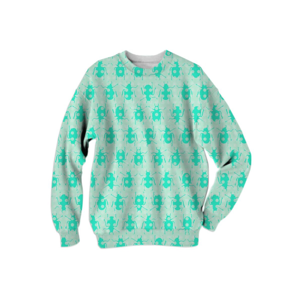 Mint Beetles Sweatshirt