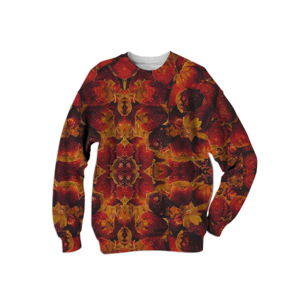 Strawberry Kaleidoscope Sweatshirt