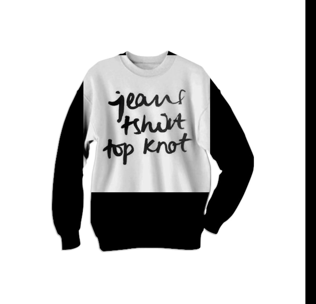 Top Knot Sweatshirt