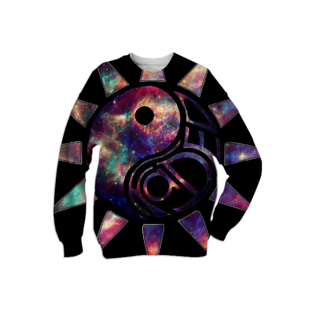 TREEZ Faded Galaxy Sweatshirt