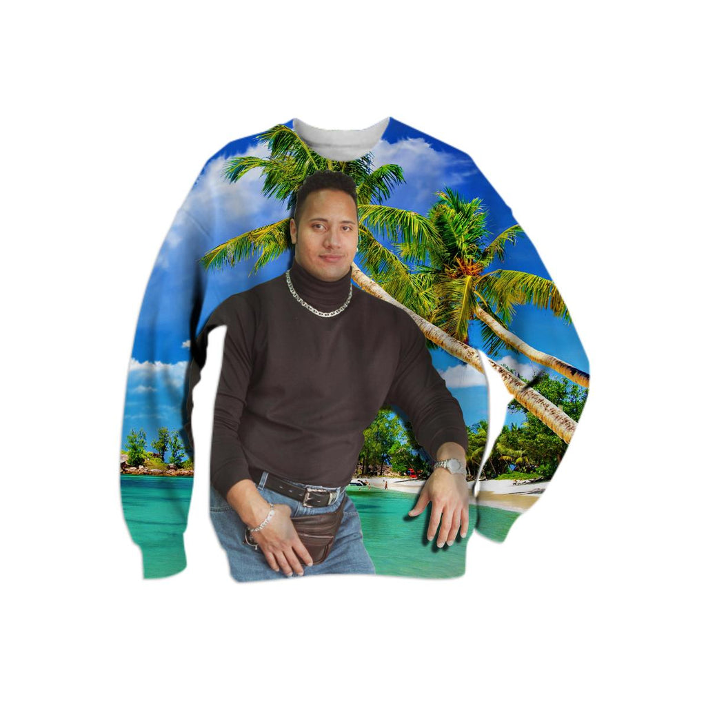 Tropical Dwayne Sweatshirt