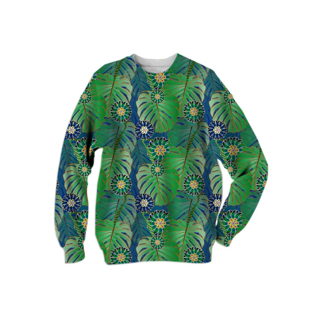 Tropical Plant Sweatshirt