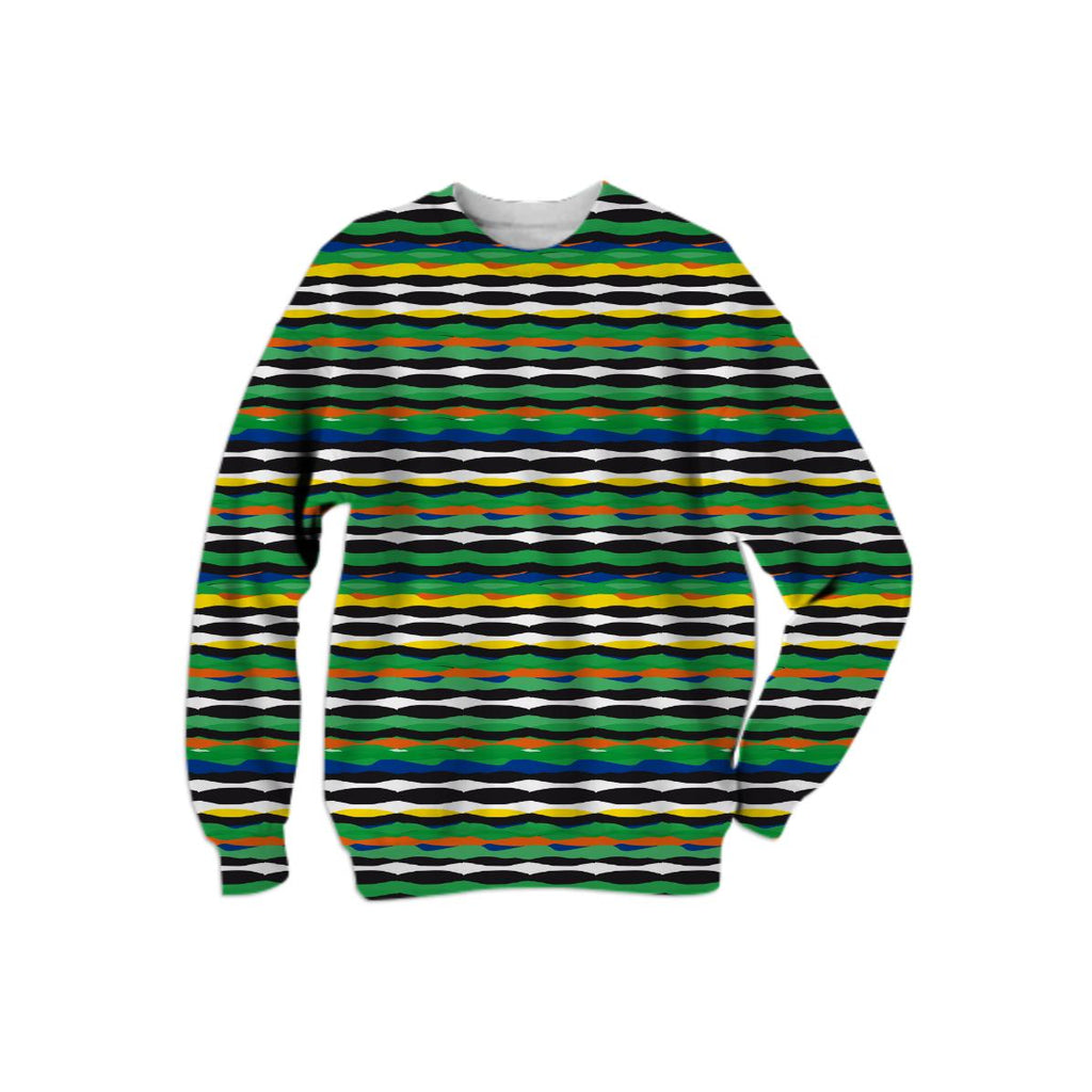 Tropical Stripes Sweatshirt