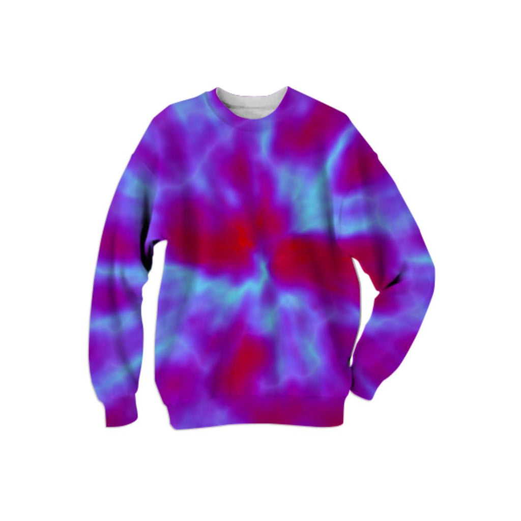 Violet Bursts Sweatshirt