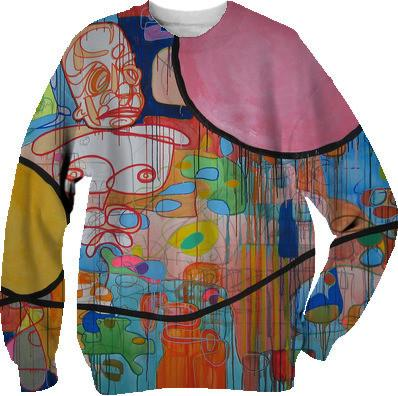A Landscape From Memory Sweatshirt by Pete Nawara