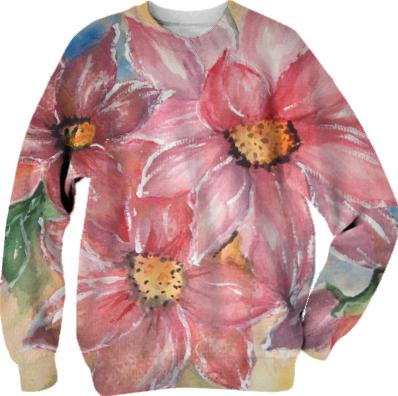 Floral watercollor