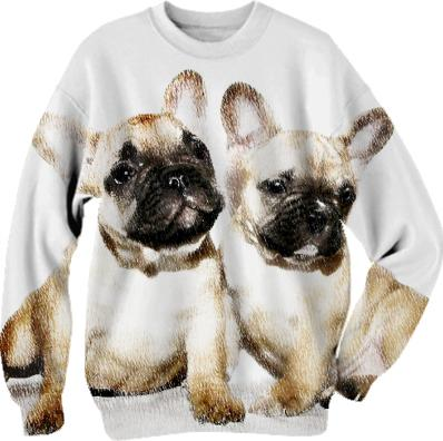 French Bulldogs sweatshirt
