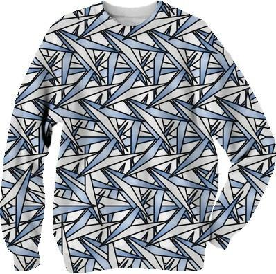 Paper Airplanes Abstract Art Sweatshirt
