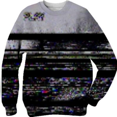 play static television again sweatshirt