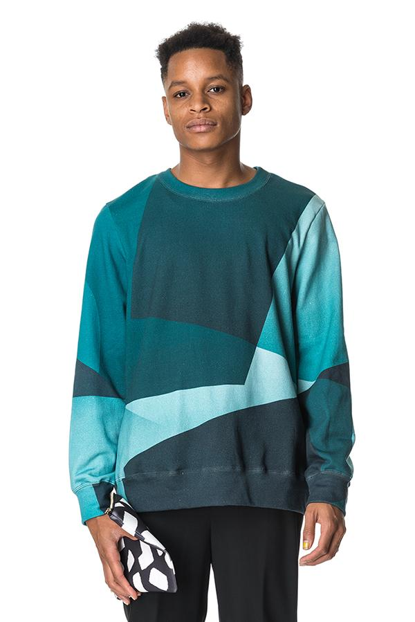 Square Fades Sweatshirt Men