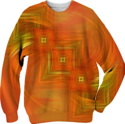 Turbulence and order SWEATSHIRT