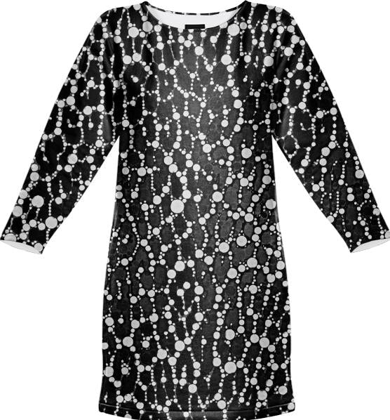Black White Leopard Bling Pattern