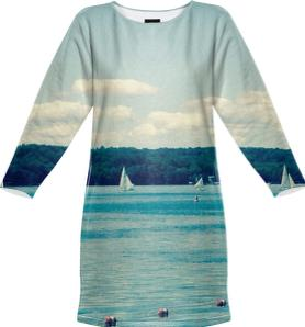 Caz Lake Sweatshirt Dress