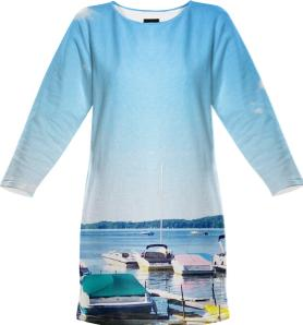 Caz Summer Sweatshirt Dress