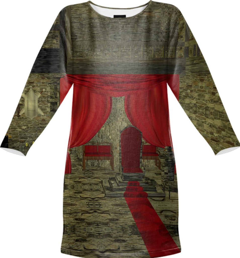 Throne Hall SWEATSHIRT DRESS
