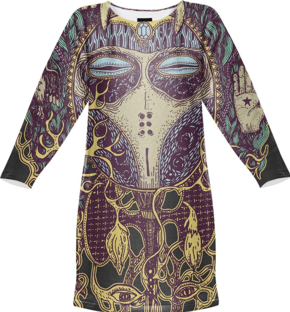 Totemia Mask Dress