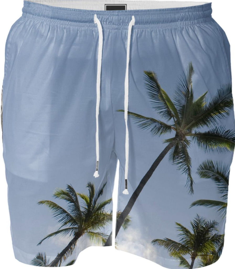 Palm tree swim short