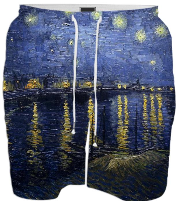 STARRY NIGHT SWIMSHORTS