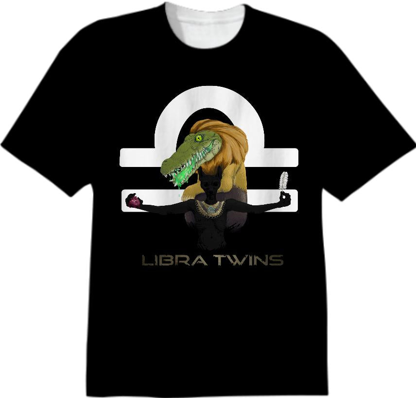 Ammit and Anubis Libra Twins shirt mane
