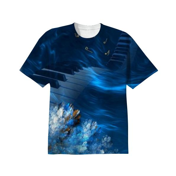 Blue Coral Melody T SHIRT