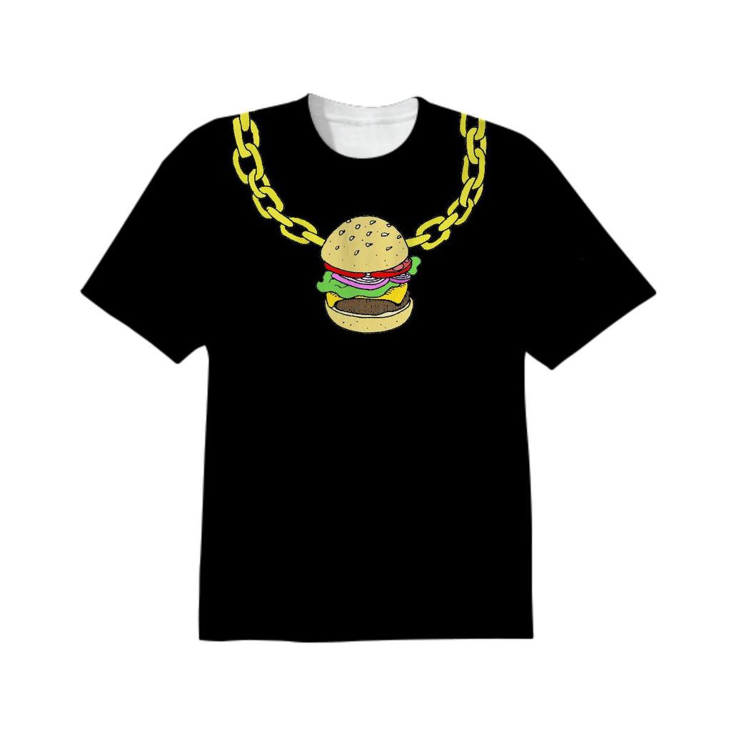 Burger Bling Black Unisex Tee
