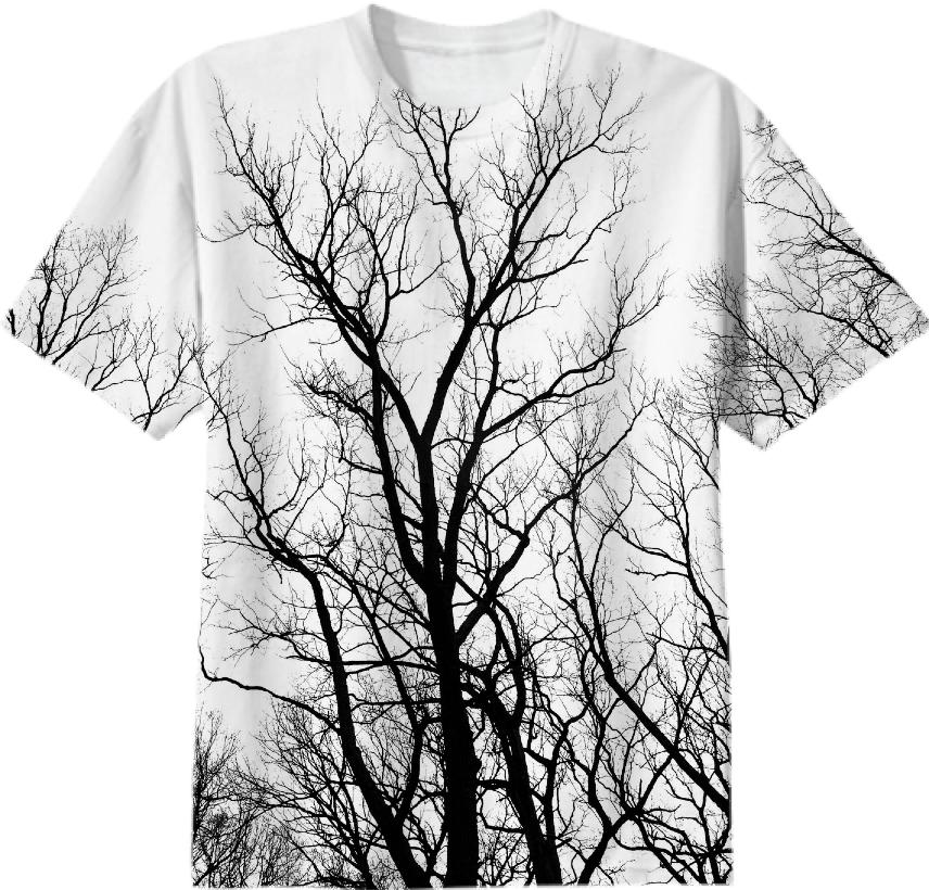 Cemetery Trees T Shirt