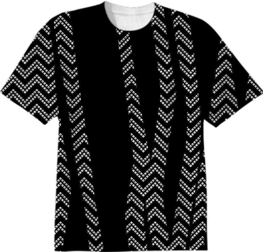 Chevron and Zebra T shirt