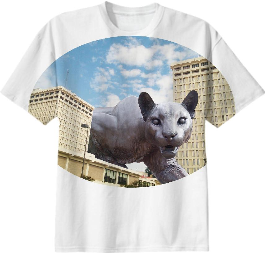 Cougar Towers t shirt
