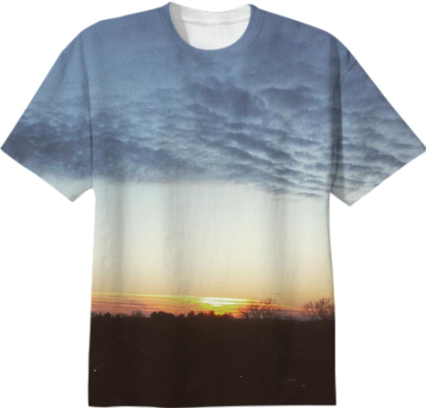 Early Evening Sunset Tee