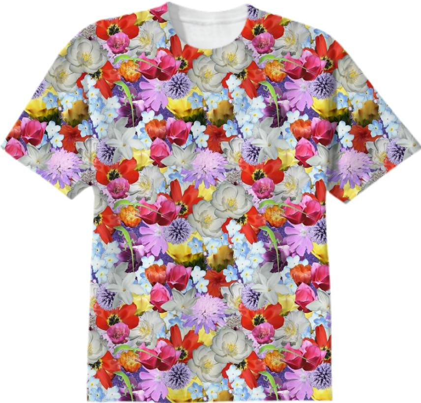 Every Flower Covered T Shirt