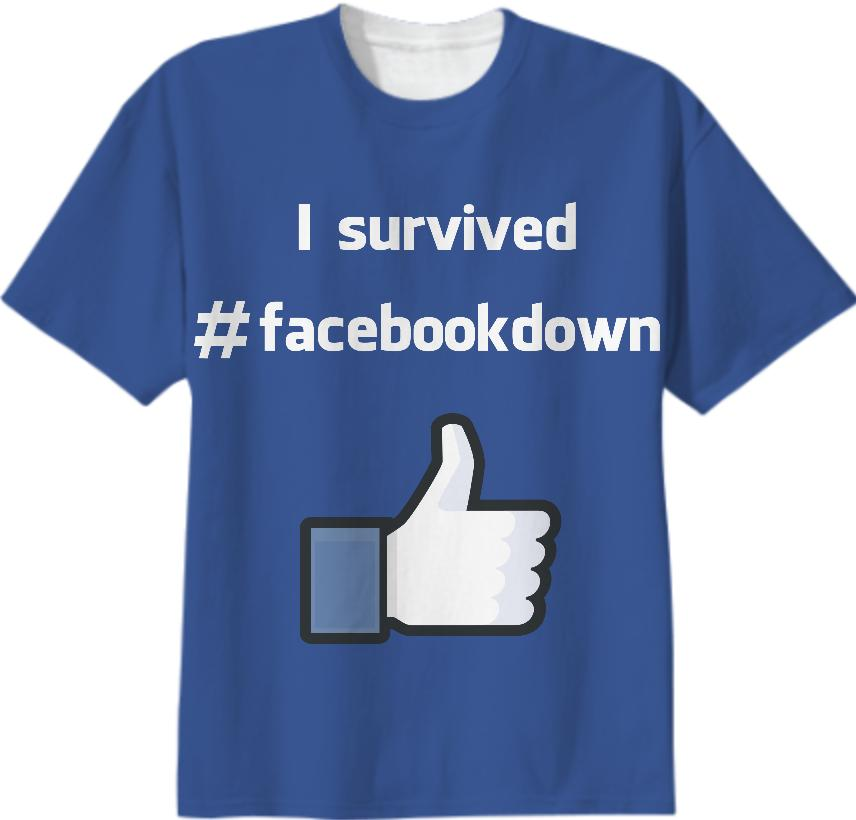 facebookdown T Shirt