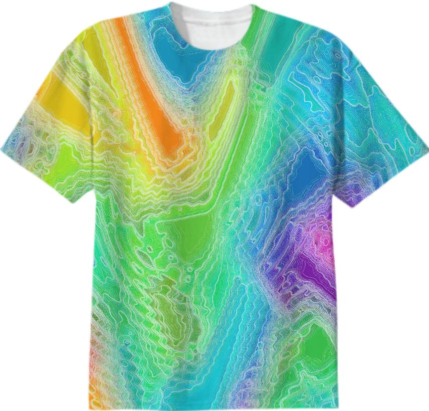 Frozen Rainbow T Shirt