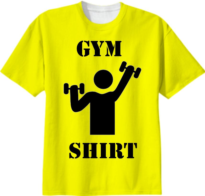 Gym Shirt Yellow