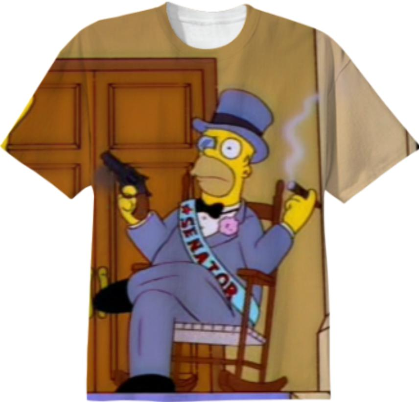 If I robbed the Kwik e Mart
