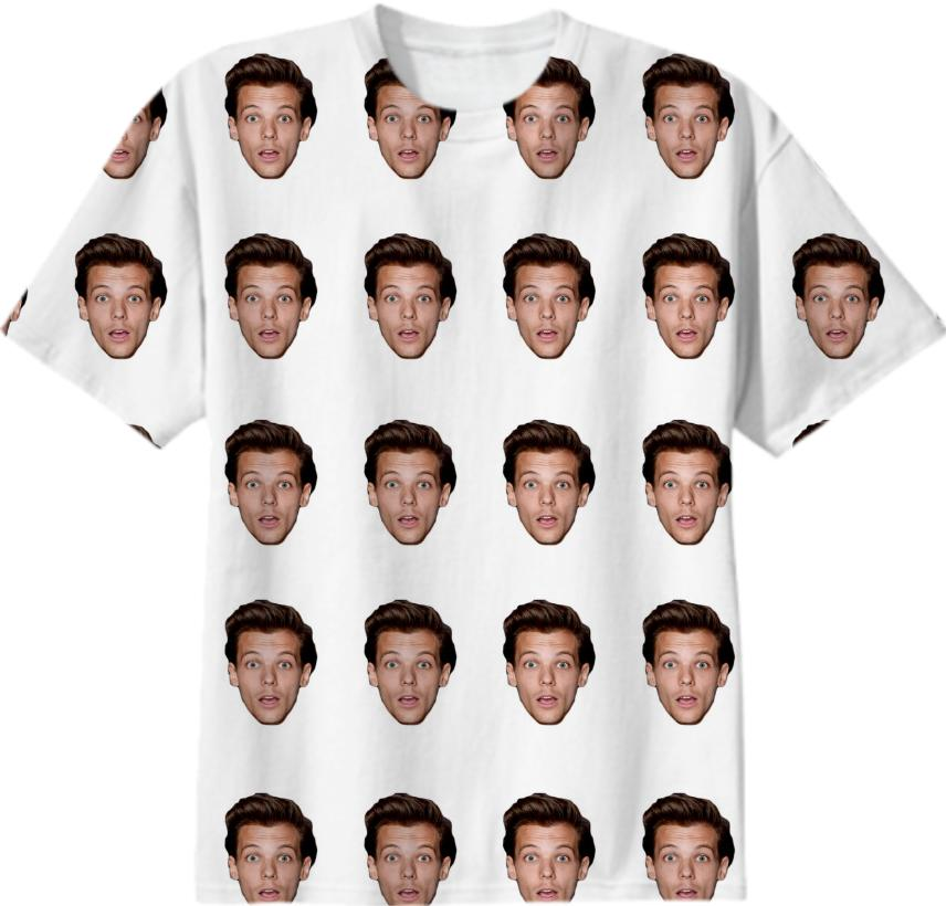 Louis Tomlinson Face Collage
