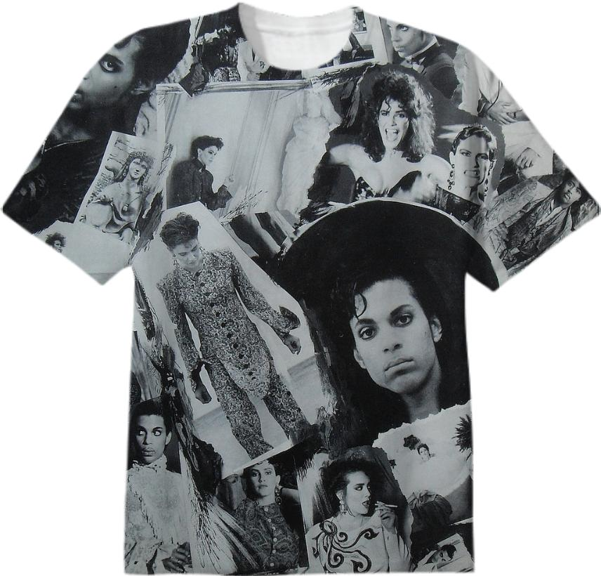 Prince Parade Collage T Shirt