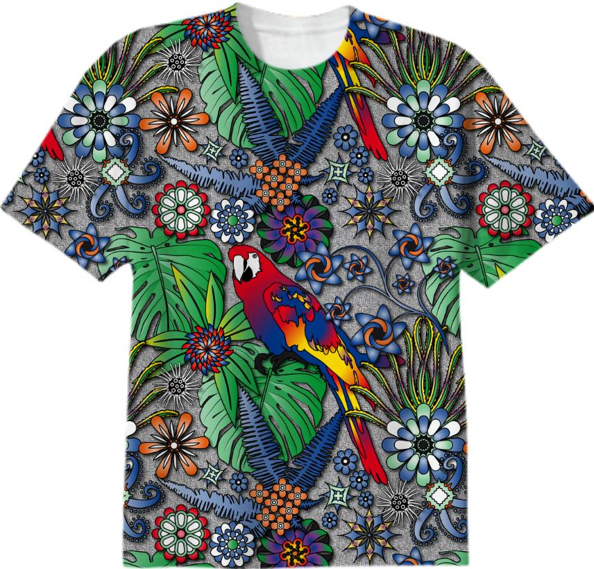 Parrot Jungle T shirt