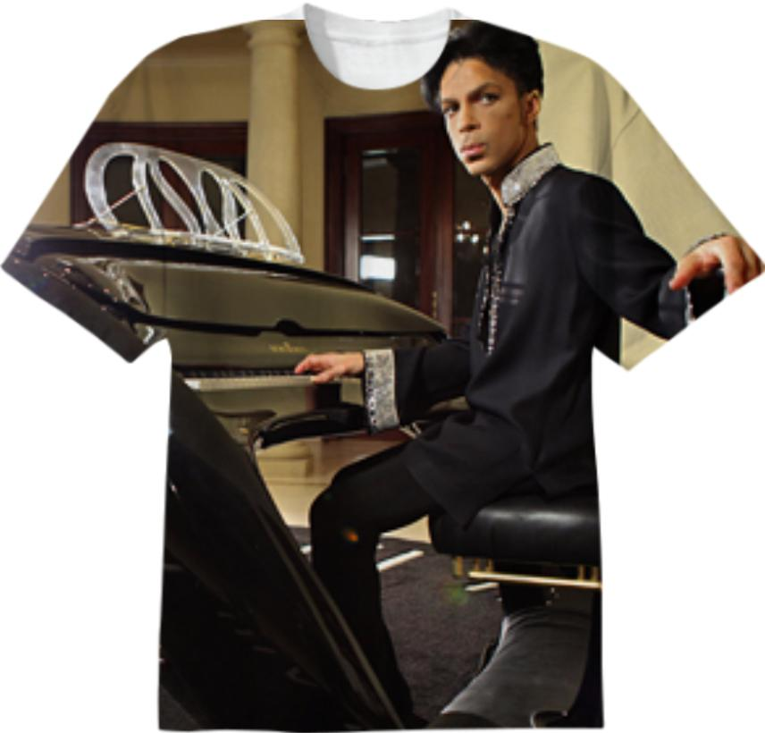 Prince and his Piano