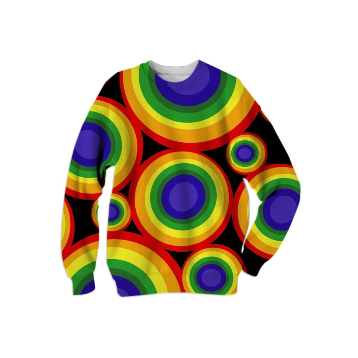 9828a166 Retro Rainbow Gay Pride Sweatshirt – PAOM