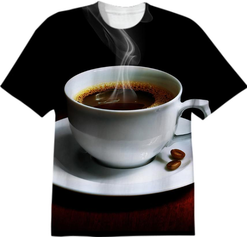 Smell The Coffee T Shirt